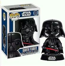 Funko POP Star Wars Darth Vader Bobble Head Vinyl Kids Figures Toys