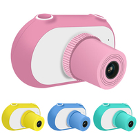 Full HD 1080P Portable Digital Video Camera 1.5 Inch LCD Screen Mini Toy Camera DSLR Camera Children Kids Digital Camcorder Gift