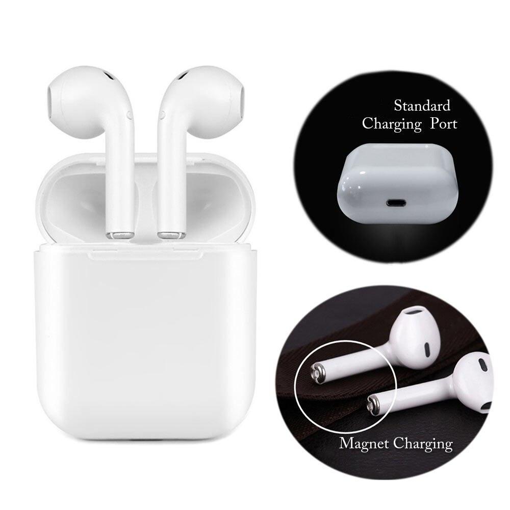 Fones de Ouvido Caixa De IFANS Carregador magnético I9 TWS Atualização do Fone De Ouvido Fones de Ouvido Estéreo Bluetooth Fone de Ouvido fone de Ouvido Sem Fio Para O Android