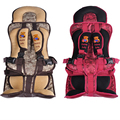 2016 New Red and Coffee Safety Five-Point Harness Seats For Children In The Car, Car Baby Seat Child Car Seat From 9 To 36 kg