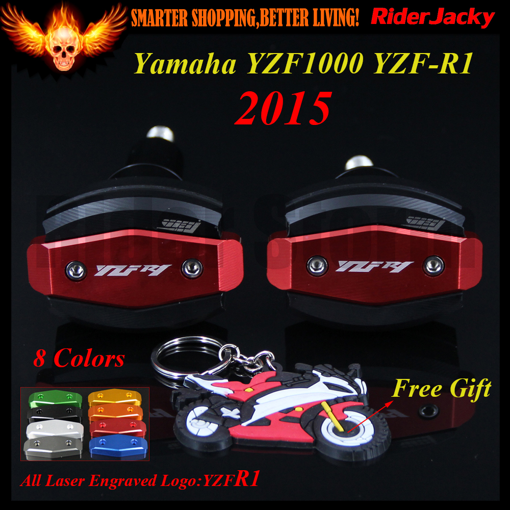 For Yamaha YZF R1 YZF1000 YZF-R1 2015 CNC Red Motorcycle Frame Crash Slider Protector Drop resistance