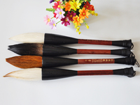 1 piece Chinese Pianiting Brush Pen Hopper shaped Paint Brush Art Stationary Oil Painting Brush Calligraphy Pen