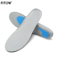 Free Size Unisex Shock Absorbant Insoles Orthotic Arch Support Shoe Pad Gel Insoles Insert Cushion for Men Women men women foot care unisex orthotic insoles arch support shoe pad soft gel insole non slip insert shock absorbant cushion
