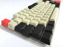 Cool Jazz Black Light Gray mixed Dolch Thick PBT 104 87 61 Keycaps OEM Profile Key caps For MX Mechanical Keyboard Free shipping