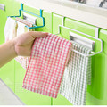 Kitchen Cupboard Door Back Style Double Bar Towel Rack Multi-purpose Utility Rack Rag Hanging Incognito