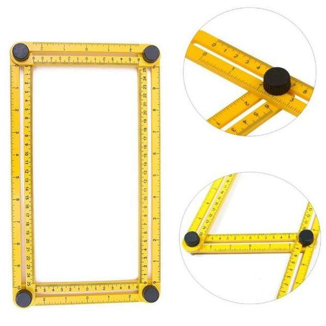 2pcs Angleizer DIY Template Tool 836 Angle izer Angle Measures All - angle template