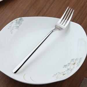 Image 4 - Zestaw obiadowy Cozy Zone 24 sztuki zestaw sztućców stal nierdzewna zachodnia zastawa stołowa klasyczny zestaw obiadowy nóż widelec restauracja jadalnia