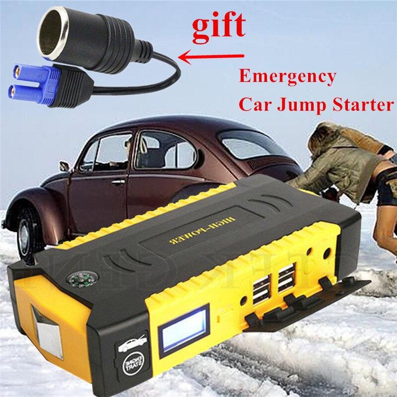 2019 Haute Puissance Portable 12 V démarreur D'urgence Car Jumper starter 600A Pic Jumper Booster Batterie De Voiture Chargeur Dispositif de Démarrage