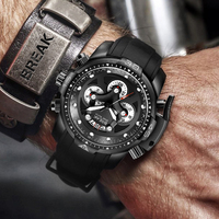 Break Watch Military Man Watches Water Resistant Sport Waterproof Male Man Watches With Chronograph Creative Men's Watch Luxury