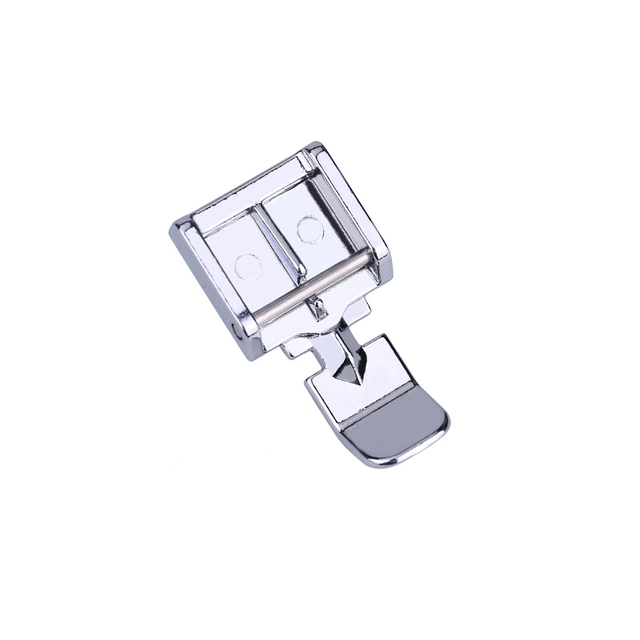 2 Sides Metal Zipper Presser Foot Feet For Snap-on Sewing Machine Brother Singer Janome Sewing Accessory