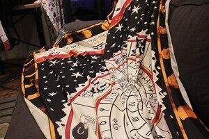 Image 5 - Tarot masa örtüsü en boy astroloji takımyıldızı kurulu oyun halısı, kanepe kılıfı halı OtsugeUranainandesu yenilik dekorasyon battaniye