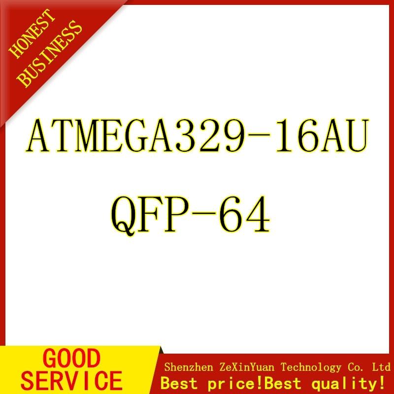 5PCS/LOT ATMEGA329-16AU QFP64