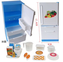 princess scene toys The refrigerator toys and accessories