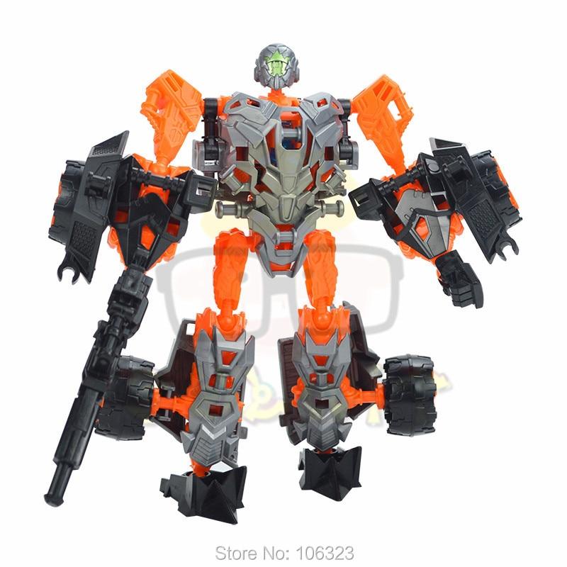 Deformation Warrior Toys, Transformation Car Team, Variant Autobots Educational Model, Assemble Robot Boy Child New Year Present
