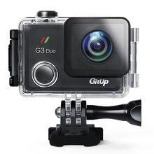 Спортивная камера gitup g3 duo 2160p 12 Мп сенсорный экран wi