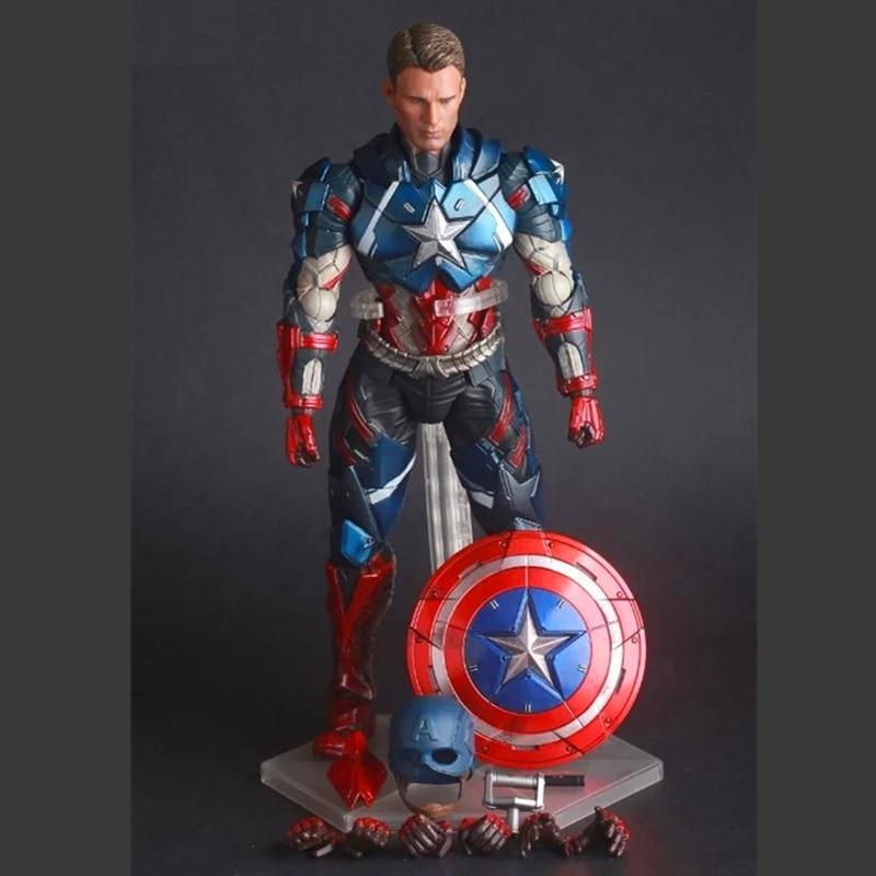 Marvel Universe Avenger Captain America Movable Crazy Toys Action Figure Model billet alu folding adjustable brake clutch levers for motoguzzi griso 850 breva 1100 norge 1200 06 2013 07 08 1200 sport stelvio