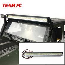 1/10 RC Crawler car Super Bright Metal  36 LED Roof Lamp Light Bar for Traxxas Trx-4 SCX10 SCX10 II 90046 90047 RC4WD D90 90027