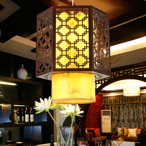 Chinese wooden dining room chandelier bedroom t wood sheepskin pendant lamp m chinese style wooden 1 2 3 heads lamps chinese restaurant new classical restaurant chandelier wooden sheepskin chandelier