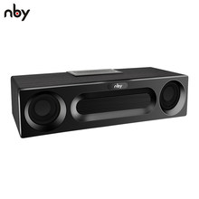NBY 5590 Portable Bluetooth Speaker 20W System Sound System 3D Stereo Music Surround Subwoofer Wireless Speakers for Computer(China)