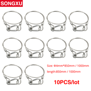 Image 1 - SONGXU 10pc Safety Cable Steel Wire Stage Light Safety Ropes Security Cable Equipment Bar Led Moving Head par light SX SR85CM