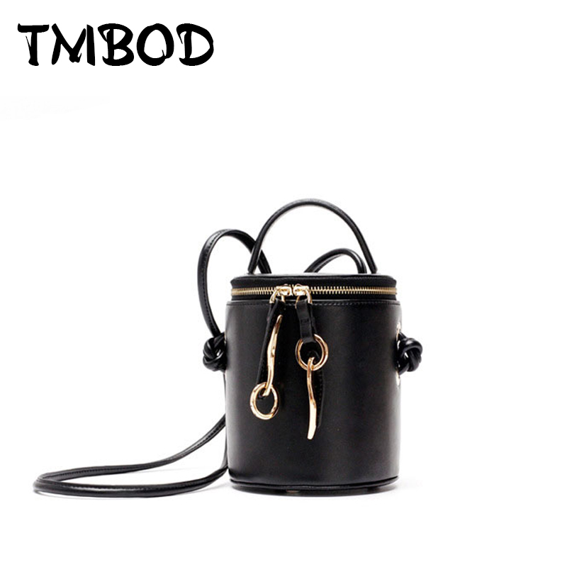 New 2018 Designer Classic Retro Tote Small Bucket Women Split Leather Handbags Ladies Bag Messenger Bags For Female an1078 new 2017 2 size designer classic casual tote popular women genuine leather handbags ladies bag messenger bags for female an808