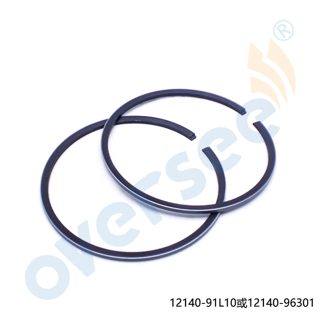 US $11 65 |OVERSEE Marine 12140 91L10 12140 96301 Piston Ring For Suzuki  Outboard Engine Motor Part-in Personal Watercraft Parts & Accessories from