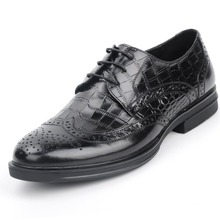 italian Style real full stone grain leather qshoes shoes mens business dress casual men round toe fashion shoe y159ke58-800