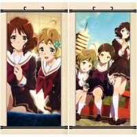 45X95CM Sound Hibike Euphonium Kyoto Animation Lolita Cartoon Anime Art Wall Picture Mural Scroll Cloth Canvas