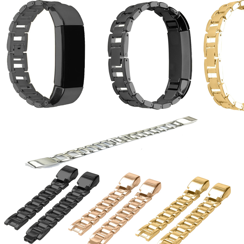 Replacement Accessory Metal Watch Bands Bracelet Strap for Fitbit Alta/ Fitbit Alta HR Fitbit Alta Classic Accessory Band stainless steel watch band wrist strap for fitbit alta hr fitbit alta metal watchband fitbit alta fitbit alta hr metal band