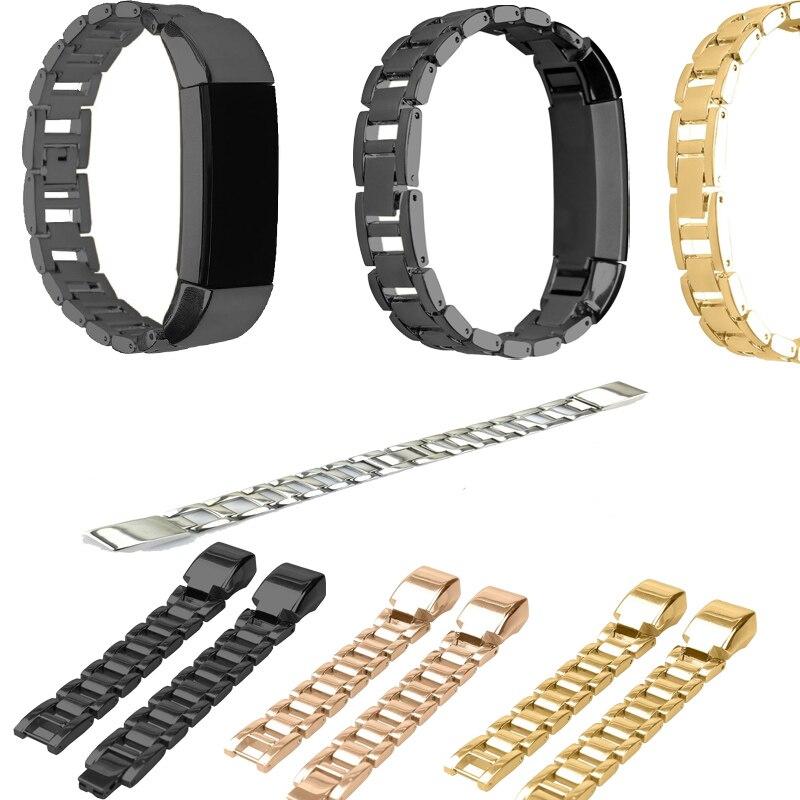 Ersatz Zubehör Metall Uhrenarmbänder Armband Armband für Fitbit Alta/Fitbit Alta HR Fitbit Alta Klassische Zubehör Band