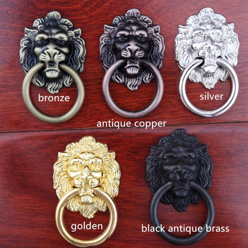 Vintage Style Golden Silver Black Antique Brass Bronze