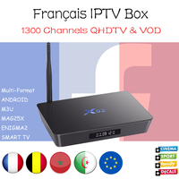 X92 French IPTV Box Android 7 1 2G16G 3G16G S912 Octa Core Belgium IPTV Subscription France