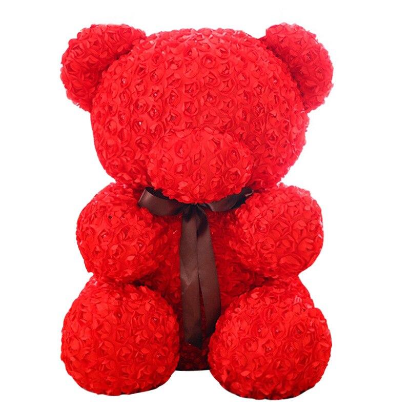 60cm Valentine S Day Gift Rose Bear Plush Toys Stuffed Full Of Love