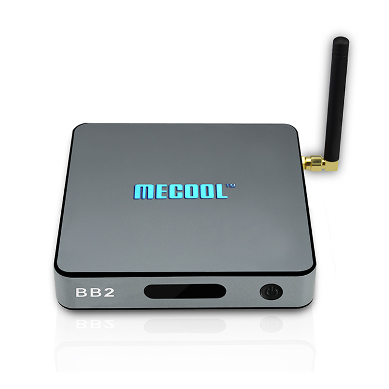 ФОТО MECOOL BB2 Android TV Box 2G 16G Amlogic S912 Octa Core 4K H.265 Decoding 2.4G + 5G Dual Band WiFi Bluetooth Kodi 17.0 Player