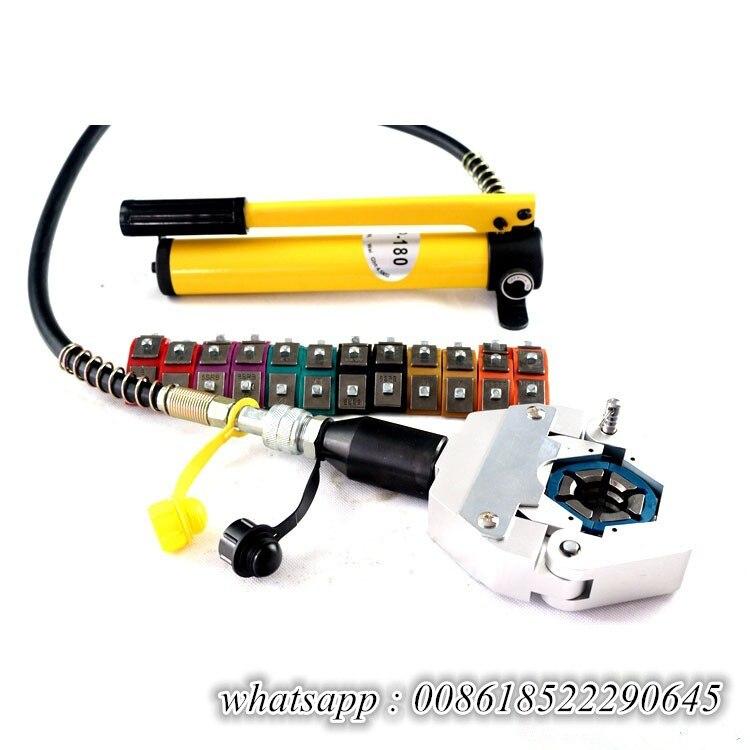 Hydaulic 7842B AC reparação ferramentas de friso da mangueira hidráulica ferramentas de Reparação de ar condicionado mangueira crimper AC