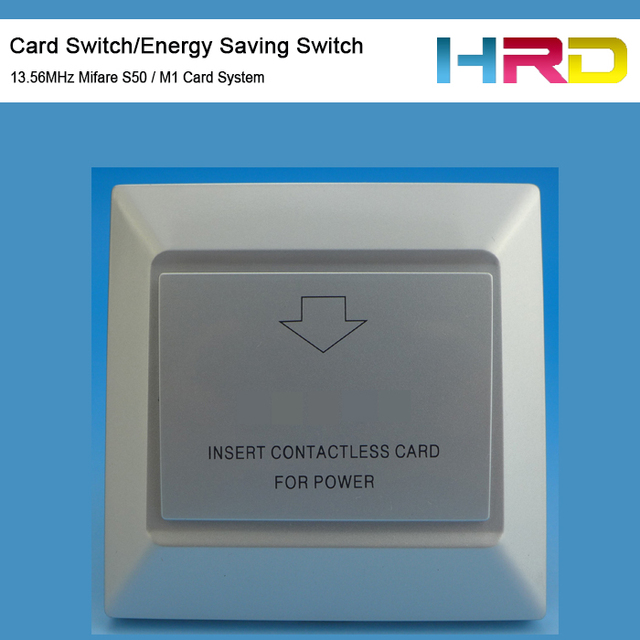 Ct106 Silver Hotel Room Key Card Switch Energy Saving