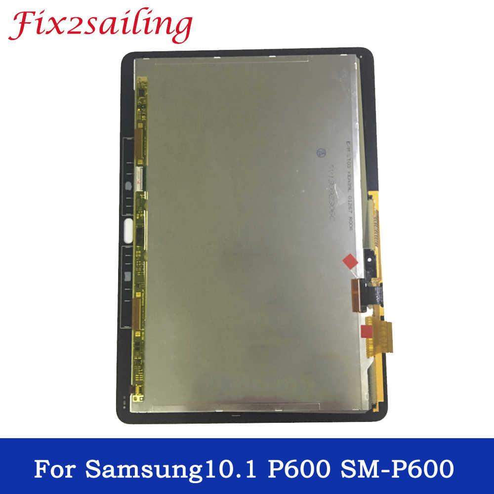 100% протестированные рабочие ЖК экраны для samsung GALAXY Note 10 1 SM P600 P605 дисплей сенсорный