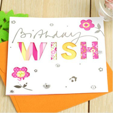 online buy wholesale pretty birthday cards from china pretty, Birthday card