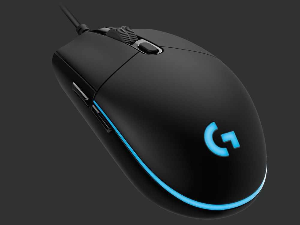 3aad4e7ea8f Logitech G PRO HERO Wired Gaming Mouse HERO 16K Sensor 16000DPI RGB ...