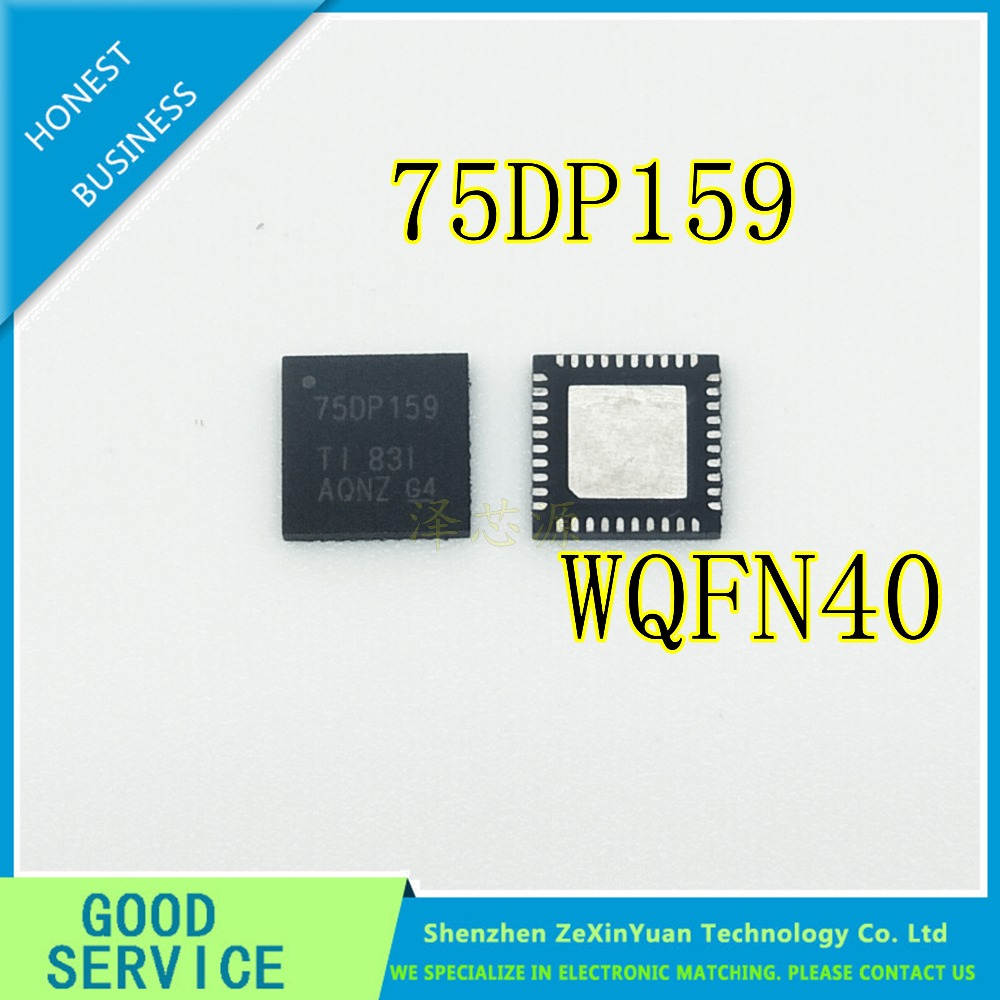 5pcs SN75DP159RSBR SN75DP159 75DP159 5mm*5mm QFN-40