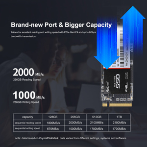 Image 4 - Netac N930E Pro M.2 2280 SSD NVMe PCIe Gen3 * 4 128GB 256GB 512 GB محرك أقراص الحالة الصلبة الداخلية 128 256 512 GB SSD قرص صلب