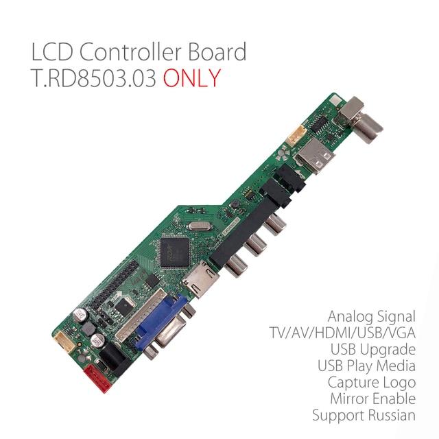 db45f8eb221 T.RD8503.03 Universal LCD LED TV Controller Driver Board TV PC VGA HDMI USB  Interface Matrix replace V56 SKR.03 Russian