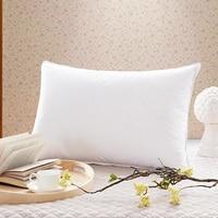 Brand high quality Filler30%White Duck Down hotel supplies pillow case pillow inner for adults bed down pillowinner 48*74cm