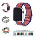 URVOI band for apple watch Series1 2 woven nylon strap band for iwatch new styles pattern with classic buckle comfortable feel