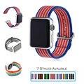 Urvoi band para apple watch series1 2 tecido nylon strap banda para iwatch novos estilos padrão com fivela clássico confortável sentir