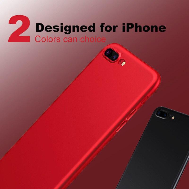 Kolpler ТПУ силиконовый чехол бампер на iPhone 5S чехол красный чехол антидетонационных защиты кожи чехол для Iphone 5S SE 5 6 6S 7 Plus