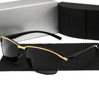ceefa8313 ... De Sol Luxo óculos Designer Marca Do Vintage Oversized Gótico Alta  Qualidade. Famous Brand Luxury Sunglasses Polarized For Men Women 2019  Driving Sun ...