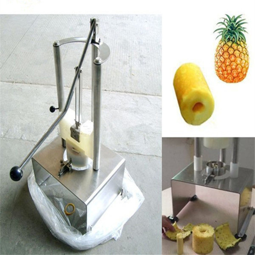 304 stainless steel pineapple peeling machine pineapple peeling coring machine stainless steel cocoa seeds peeling machine for sale