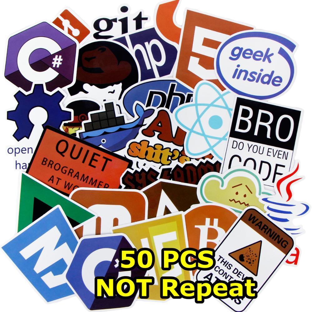 50 Pcs Internet Java Sticker Geek programmatore Php Docker Html Bitcoin Nube C + + Linguaggio di Programmazione Per Il Computer Portatile Auto FAI DA TE adesivi50 Pcs Internet Java Sticker Geek programmatore Php Docker Html Bitcoin Nube C + + Linguaggio di Programmazione Per Il Computer Portatile Auto FAI DA TE adesivi