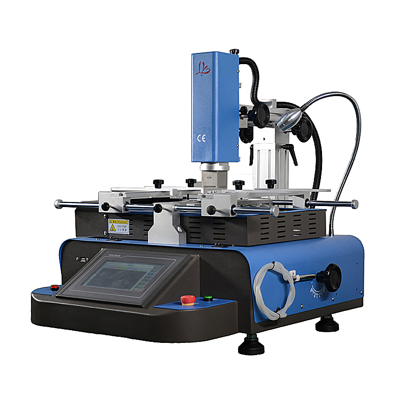 Automatic BGA Rework Station with K-type Thermocouple Closed-Loop Controlling for Motherboard Repair